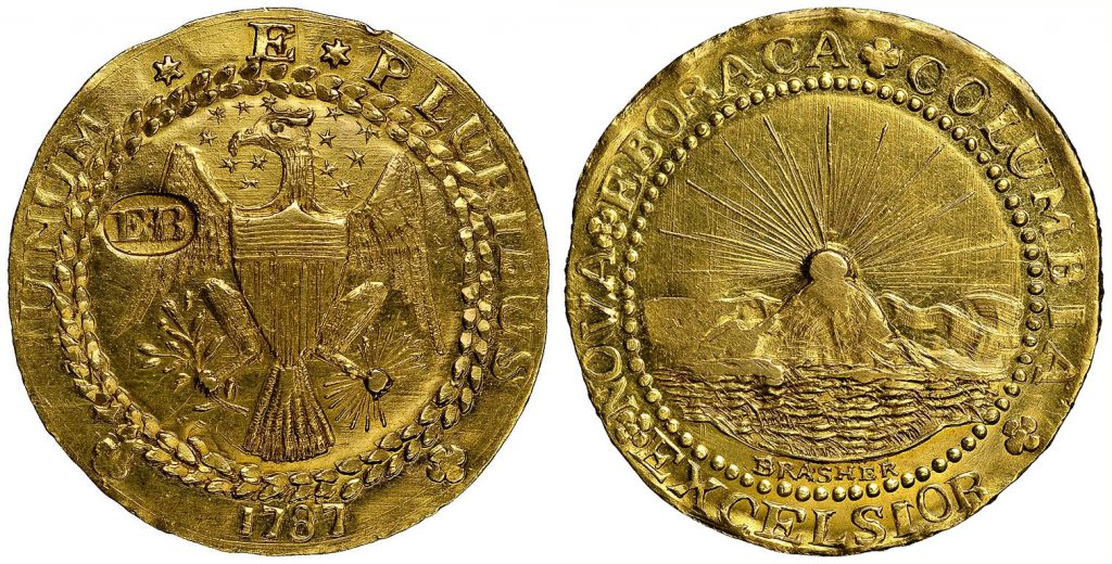 1787 The Brasher Doubloon