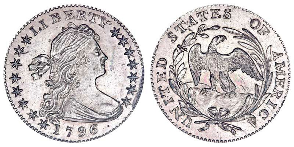 1796 Draped Bust Half Dollar