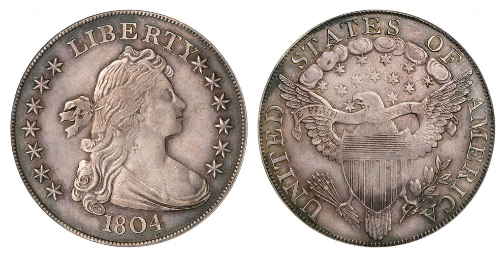 1804 Draped Bust Dollar