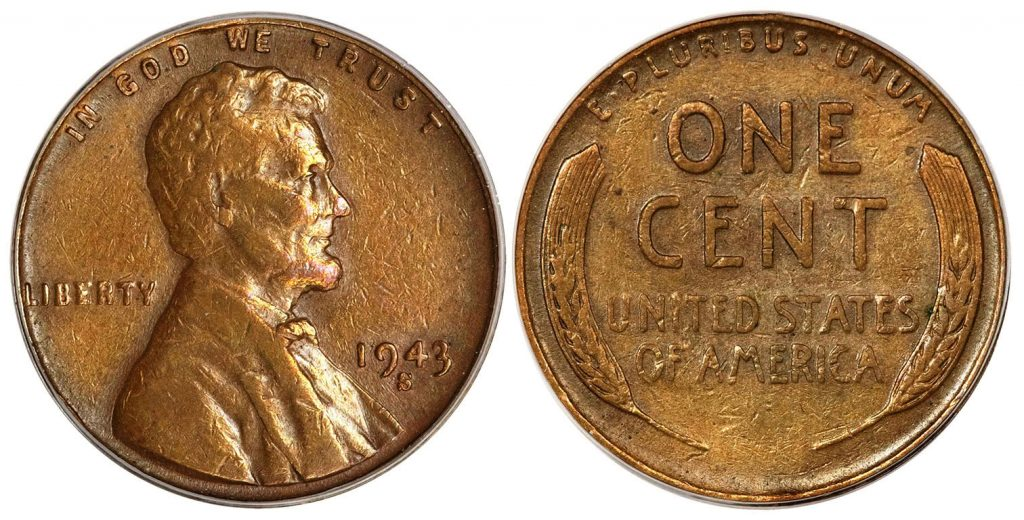 1943 Copper Penny