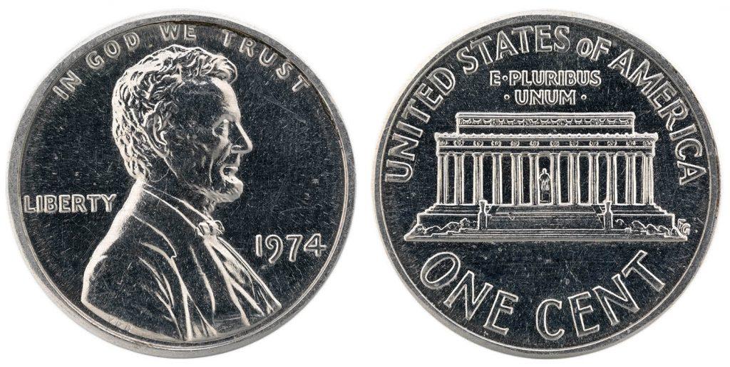 1974 Aluminum Penny