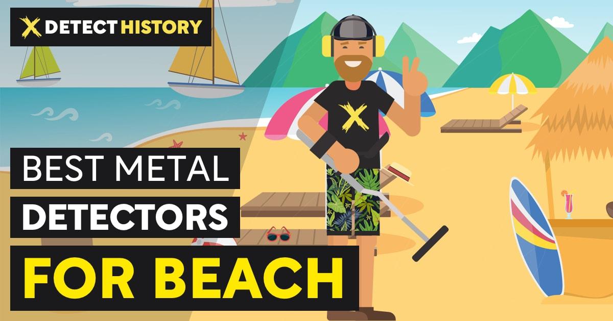 Best Metal Detectors for Beach DetectHistory.com