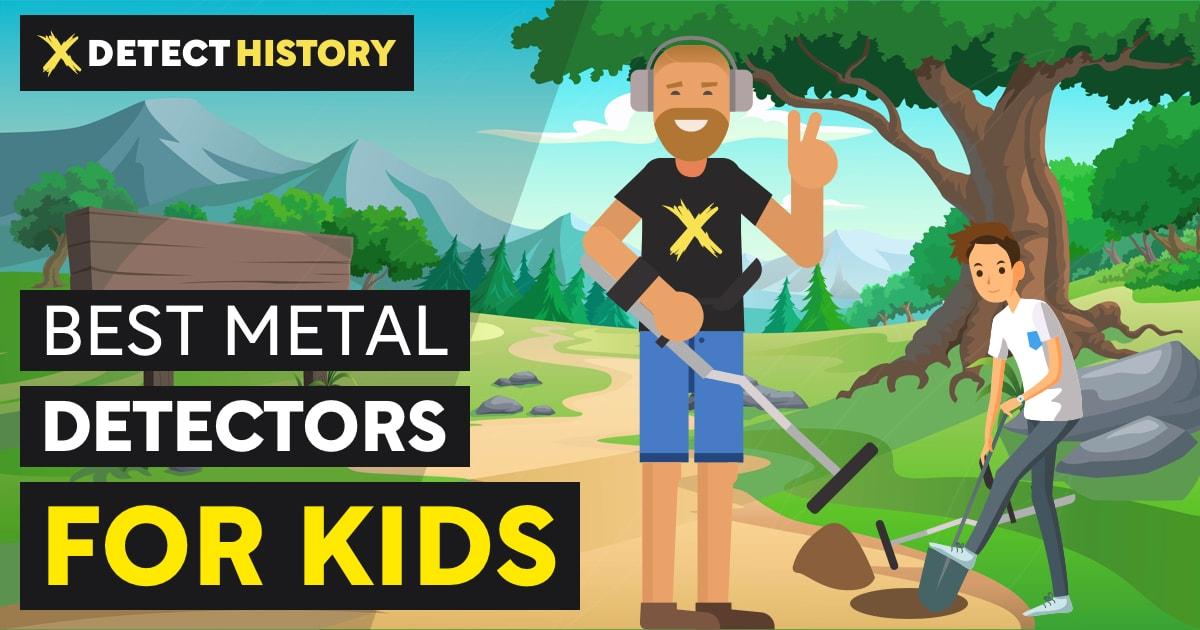 Best Metal Detectors for Kids DetectHistory.com