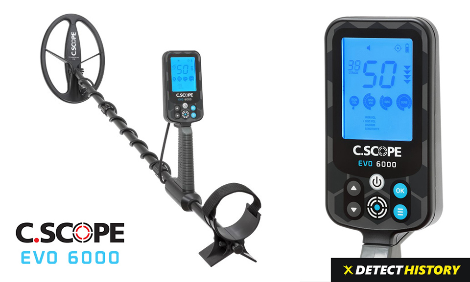 C.Scope EVO6000 Metal Detector