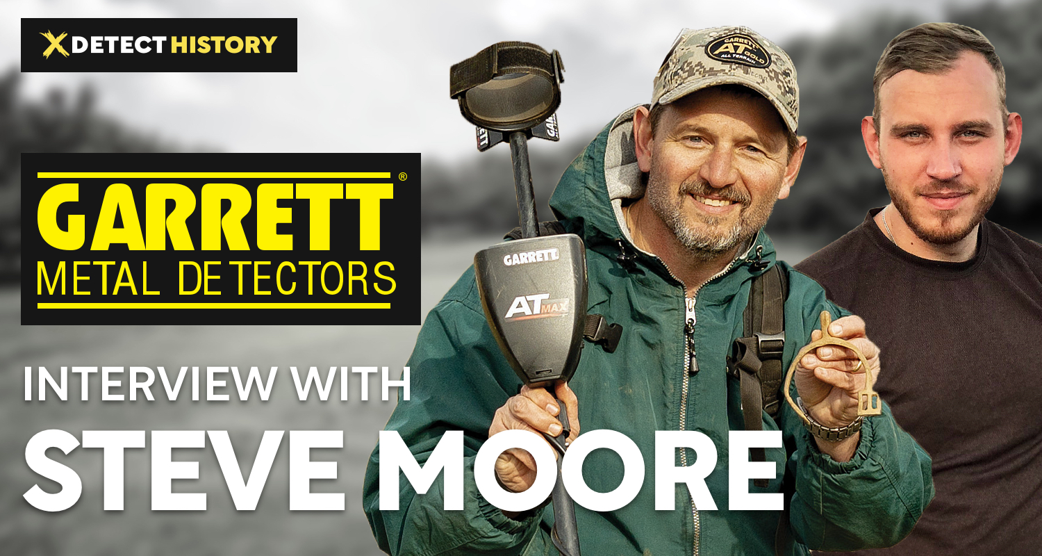 Exclusive Interview with Steve Moore from Garrett Metal Detectors