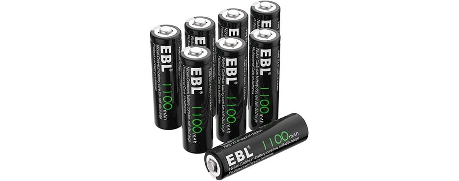 EBL AA Rechargeable Batteries 1.2V 1100mAh