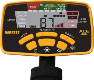 Garrett Ace 300 Display