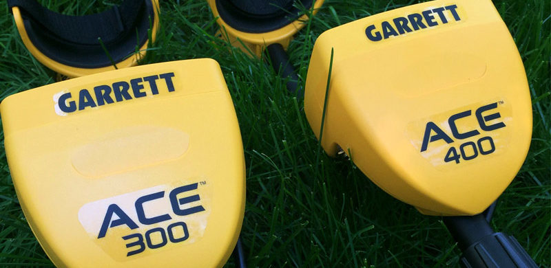 Garrett Ace 300 and Garrett Ace 400