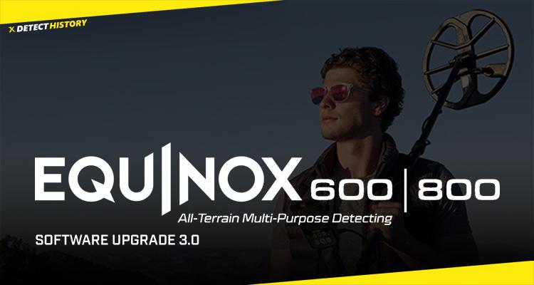 Minelab Equinox v3 Firmware Update 2020 – New 4kHz Frequency!