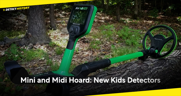 Mini and Midi Hoard: New Kids Detectors by Nokta Makro