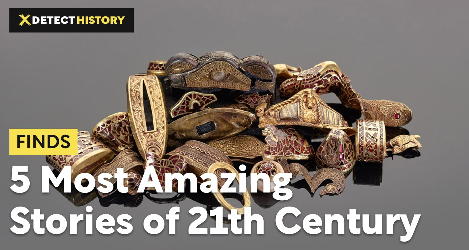5 Most Amazing Metal Detecting Stories of 21th Century