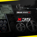 NEW XP Deus V5 Software Update + 3 NEW Coils X35