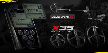 XP Deus V5 and XP Coils X35