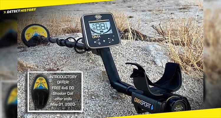 New GMXSport Metal Detector by Whites 2020