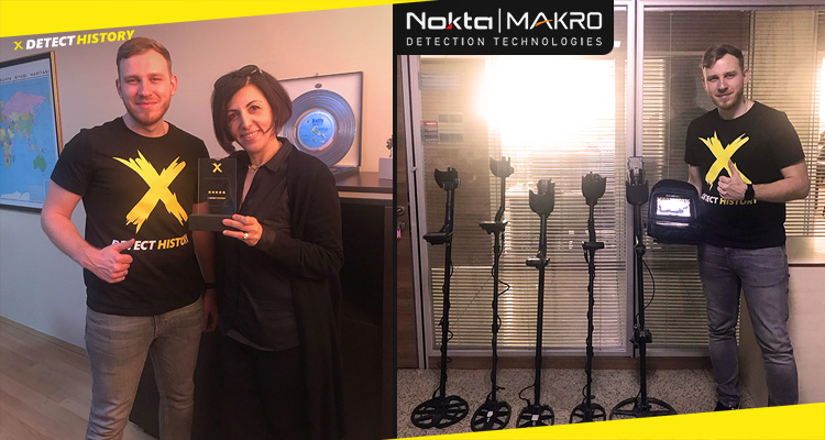 Nokta Makro opens its doors to Detect History Interview with Dilek Gonulay new 2020 coils and metal detectors and insider information