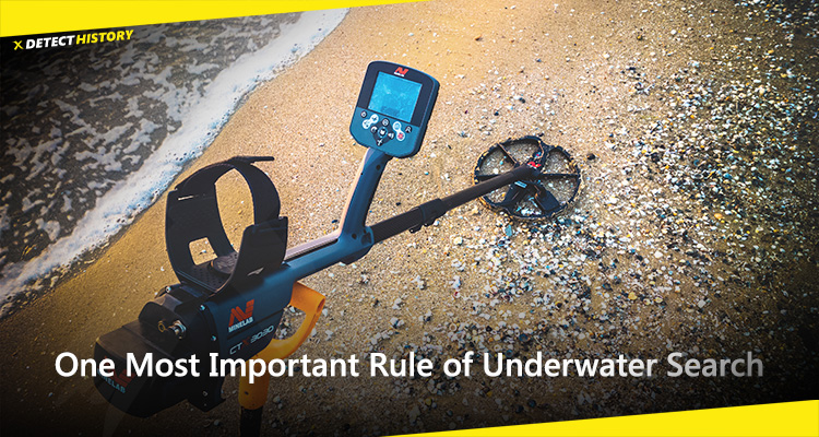 One Most Important Rule of Underwater Search