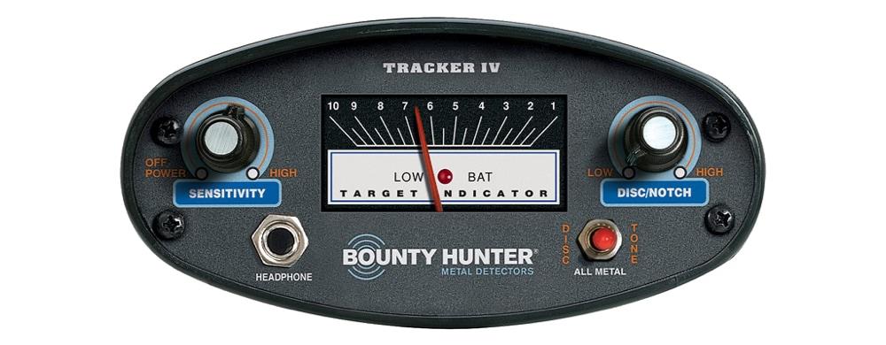 bounty hunter tk4 control box