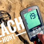 Video: Minelab Equinox – Metal Detecting on the Beach + Test