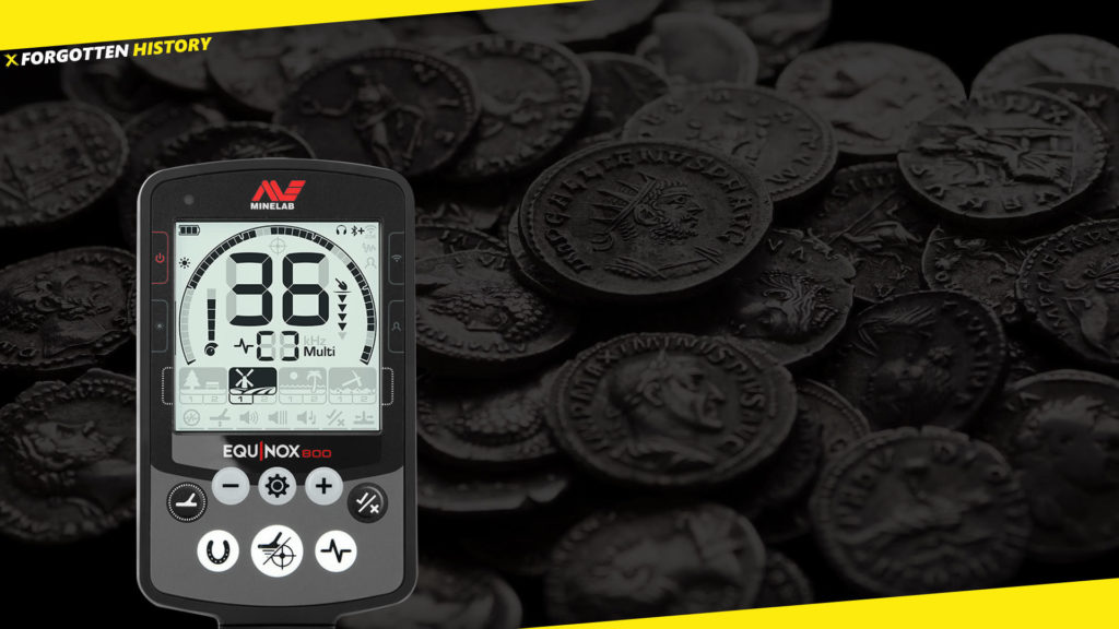 Metal Detecting ancient coins with Minelab Equinox • Detect History