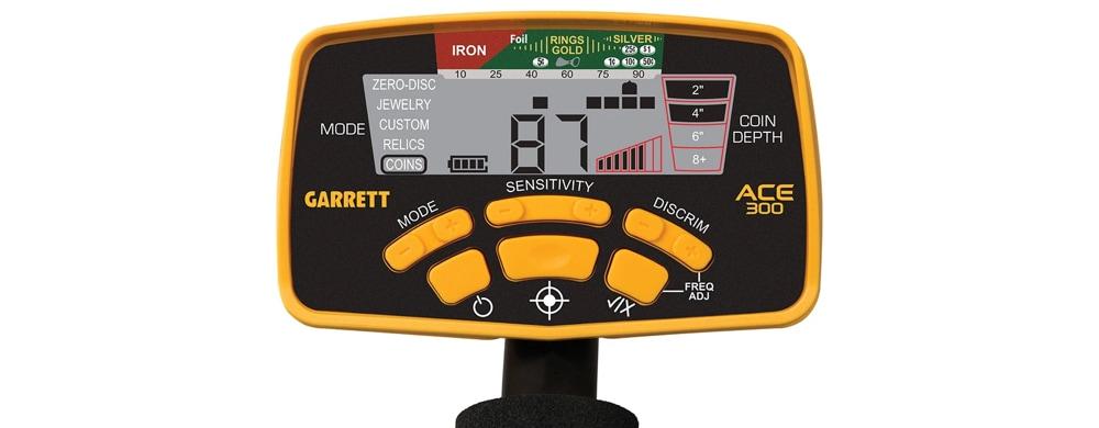 garrett ace 300 control box