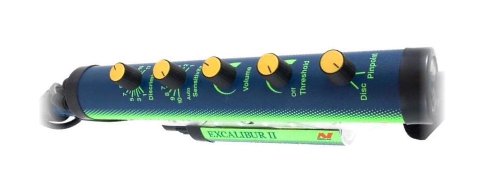 minelab excalibur ii control box
